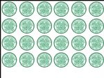 24 x Celtic Football Club FC edible wafer paper cup cake top toppers